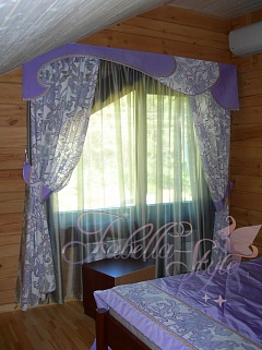 шторы фото под цвет спальни