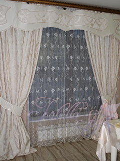 шторы в гостиную изабелла