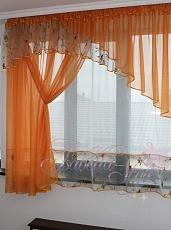 Красивые шторы для кухни сшить своими